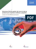 Soluciones PLM de gestión del ciclo de vida de producto para empresas medianas y pequeñas