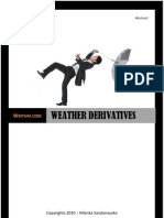 Weather Derivatives - The Impact