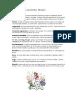 Identificación de Las Características Del Cuento