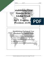 Establishing Gear Standards for Global Trade