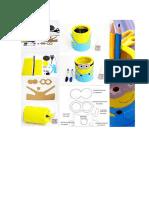 Porta Lápis Minion