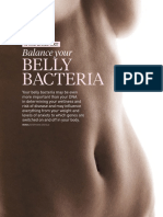 WellBeing Special Reports - Belly Bacteria 2015