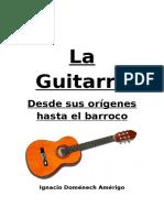 Historia de la guitarra clásica