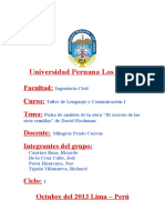 Ficha de Analisis de Las Siete Semillas