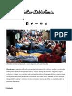Cultura Da Violência - PUCRS _ Revista Mundo PUCRS