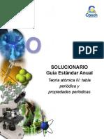 2014 Solucionario Clase 4 Teoría Atómica III
