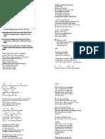 Lirik Lagu 31 Maret 2016.Doc