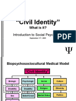 Civil Identity - Soc 101