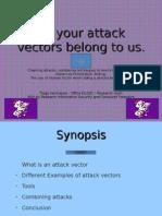 Attack Vectors