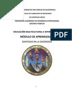 Módulo 1 Educación Multicultural e Intercultural