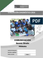 5 Cuadernillo Comunicacion Primaria