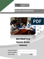 5 Evaluacion Diagnostica Quinto Grado 11-04-2016