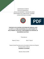 Propuesta de Un Sistema de Información Gerencial