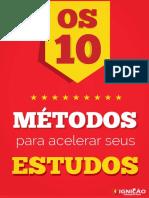 10 métodos de estudo