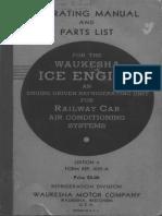 Waukesha Ice Engines C and D