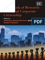 Handbook of Research on Global Corporate Citizenship (Elgar Original Reference) (2008)