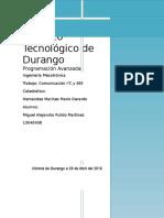 Comunicación I2C