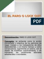 EL PARO O LOCK OUT.ppt