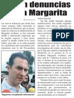 11-06-16 Nutren denuncias contra Margarita