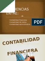 Contabilidad Administrativa, Financiera