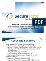 EAPEAK - Wireless 802.1X EAP Identification and Foot Printing Tool