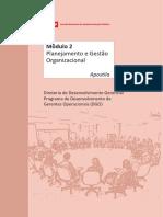 1. Apostila - Módulo 2 - Planejamento e Gestão Organizacional
