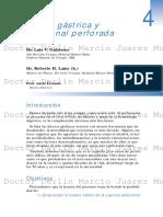 Ulcera Gastrica y Duodenal Perforada
