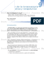Toracoscopia Diagnostica y Terapeutica