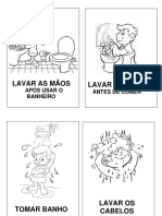 Desenhos Hábitos de Higiene
