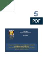 INTERFIS. Artículo 5. 2015. Grupos de iniciación a la investigación estudiantil. Actividades piloto GIIE. 2013
