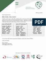 Green Lane newsletter