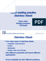 Good Welding Practice Stainless Steels-presentación