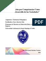 """""""La Educación Por Competencias Como Medio de Desarrollo de Las Sociedades"""""""