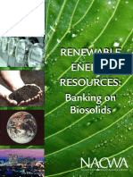 NACWA - White Paper on Biosolids Energy