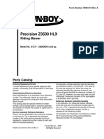3359-815 Lawnboy Precision Z3500 HLX parts manual