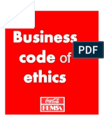KOF Business Code of Ethics 2012