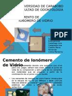 Cemento de Ionomero de Vidrio Poster