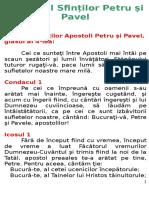 Acatistul Sfinților Petru Și Pavel