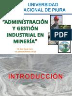 Administración de La Industria Minera