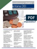 Boletin Informativo Sobre Impuestos