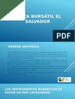 Plaza Bursátil El Salvador Centroamerica