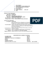 UT Dallas Syllabus for stat3360.5u1.10u taught by Yuly Koshevnik (yxk055000)