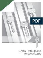 Catalogo Llaves Transponder Para Vehiculos Flexon