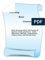 Learning Basic English Grammar