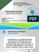 Presentación de Neuronas en Espejo