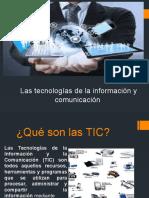"""""""Las Tecnologías de Información y Comunicación"""""""