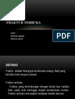 Open Fraktur