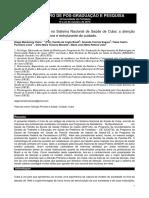 Artigo Vivêncas No Sistema de Saúde de Cuba - Diego Viana