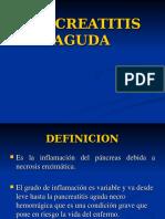 Pancreatitis Aguda 2013