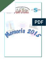 Memoria 2015 Adayeus